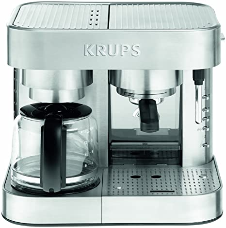 Amazon.com: Krups xp6040 Die Cast Bomba Espresso machine y ...
