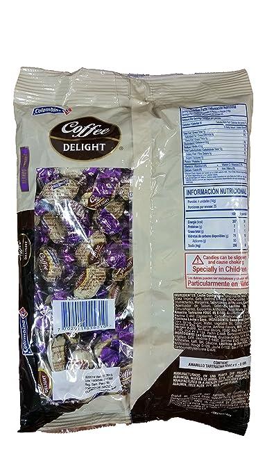Amazon.com : Coffee Delight Caramelo Blando Relleno Con sabor a Café /Coffee Flavored Soft Filled Candy : Grocery & Gourmet Food