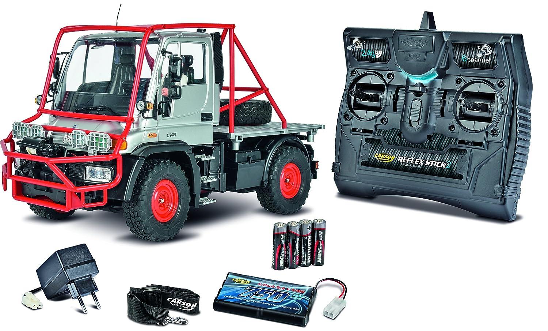 Carson 500907251 – 1  12 Unimog U300 Desert Rally 100% RTR, veicolo