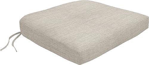 Custom x Easy Way Products 19302U-F40433 Contour Dining Chair Cushion