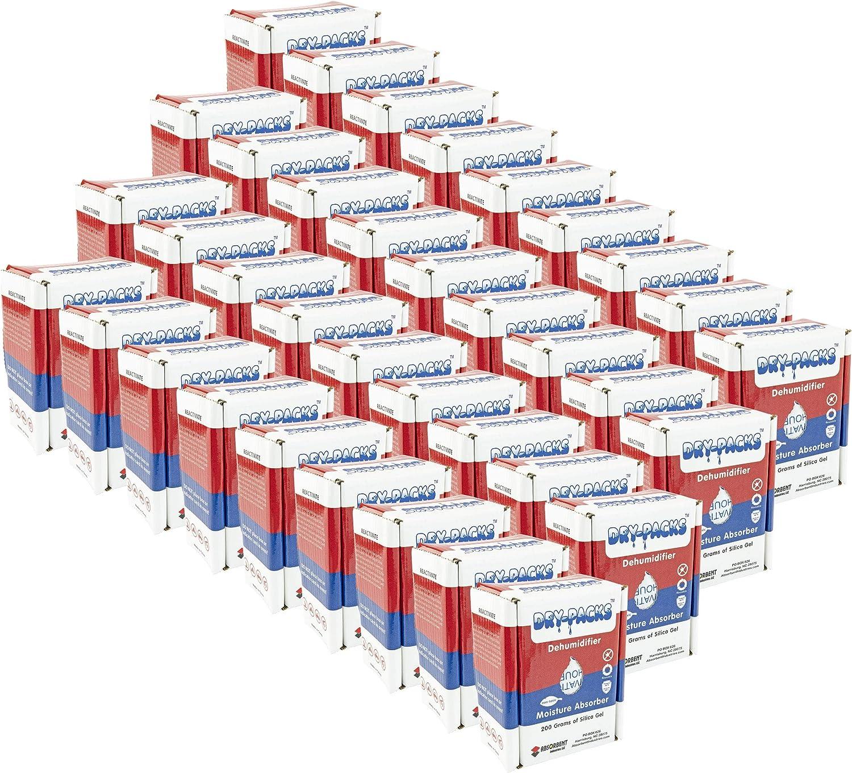 드라이 팩 DP200BOX-36PK200GM 제습 상자 36 팩 36 팩 흰색