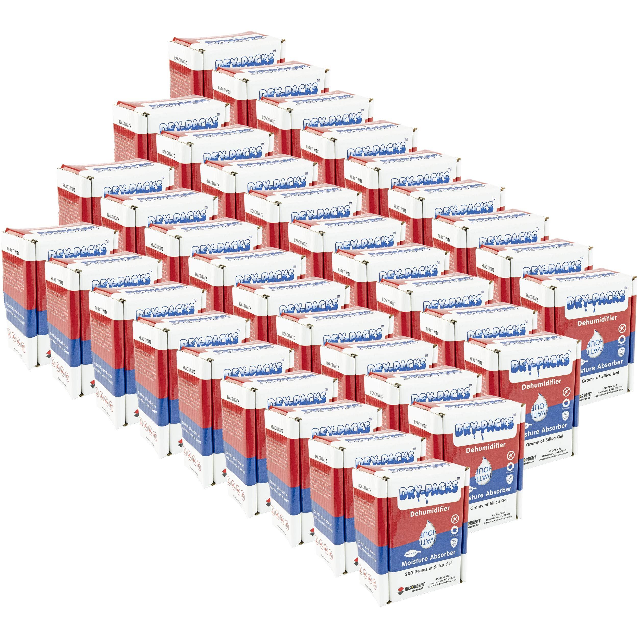 Dry-Packs DP200BOX-36pk 200gm Dehumidifying Box, Pack of 36, 36-Pack, White by Dry-Packs