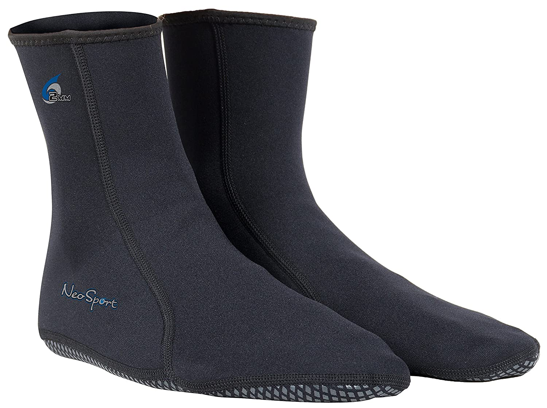 NeoSport Wetsuits Prima neopreno 2 mm neopreno calcetines de agua: Amazon.es: Deportes y aire libre