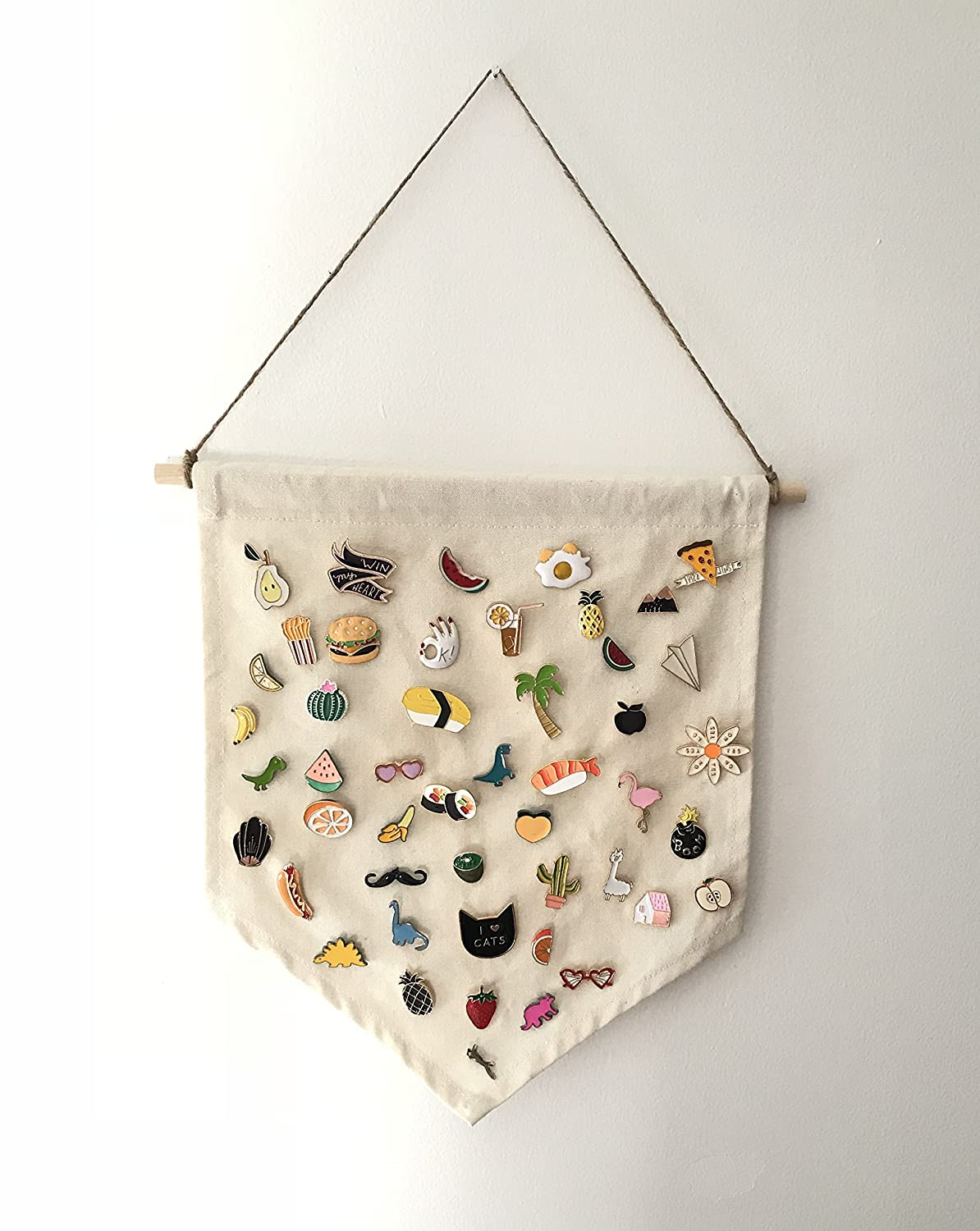 Enamel Pin Wall Display Banner - Organize and Display Your Enamel