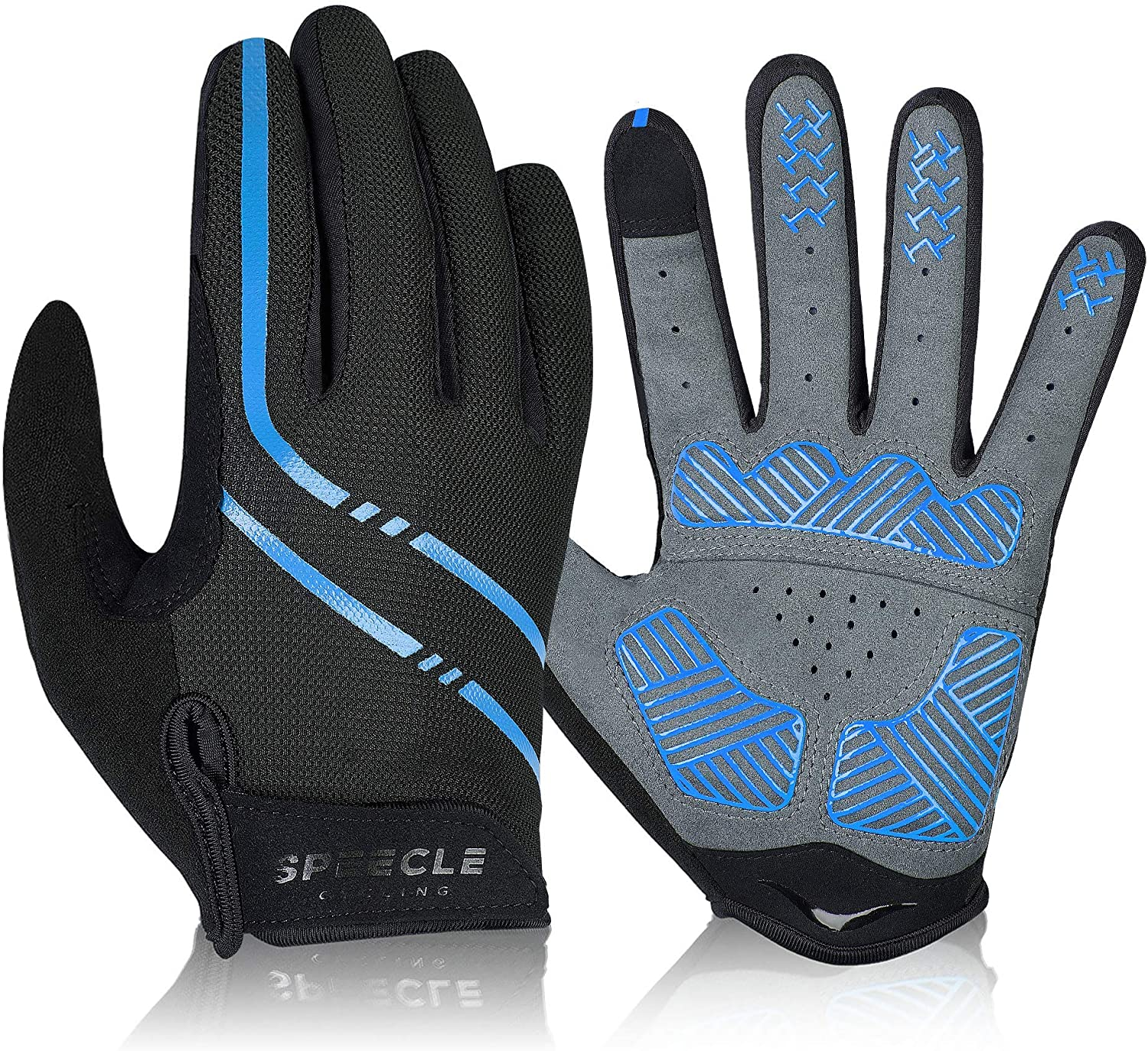 Details about  /Bike Glove Full Finger Cycling Gloves Men Women Shockproof Road Mountain Bicycle