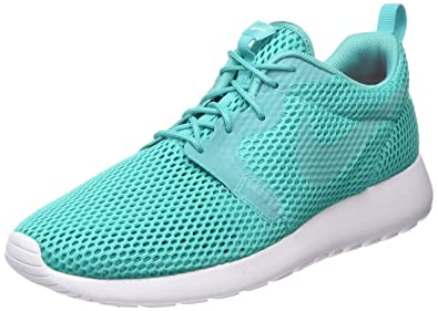 Nike Men's Roshe One HYP BR Clear Jade/Clear Jade/White Running Shoe 7.5