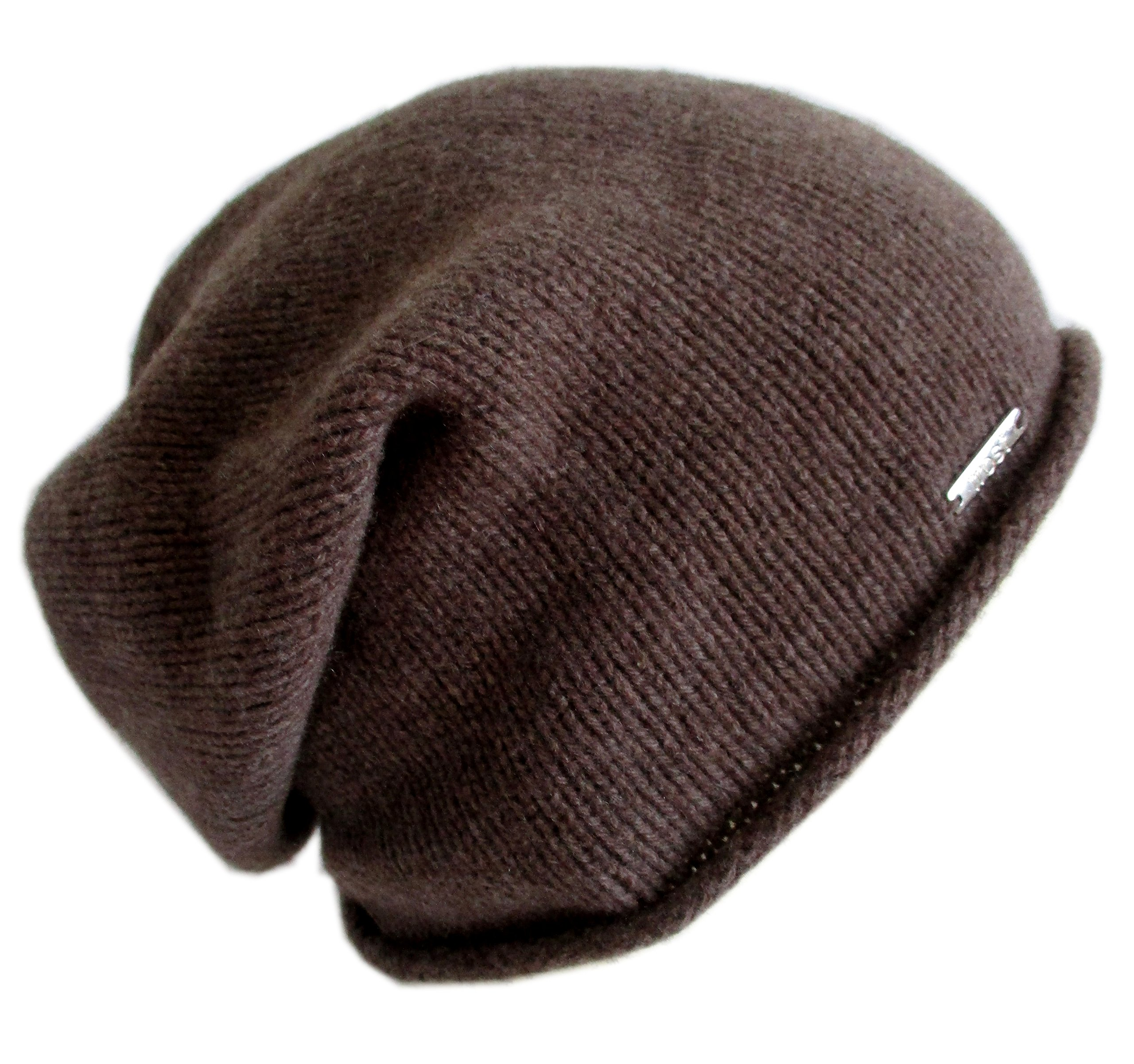 Frost Hats Italian Cashmere Slouchy Unisex Hat CSH-742-W (Brown) by Frost Hats