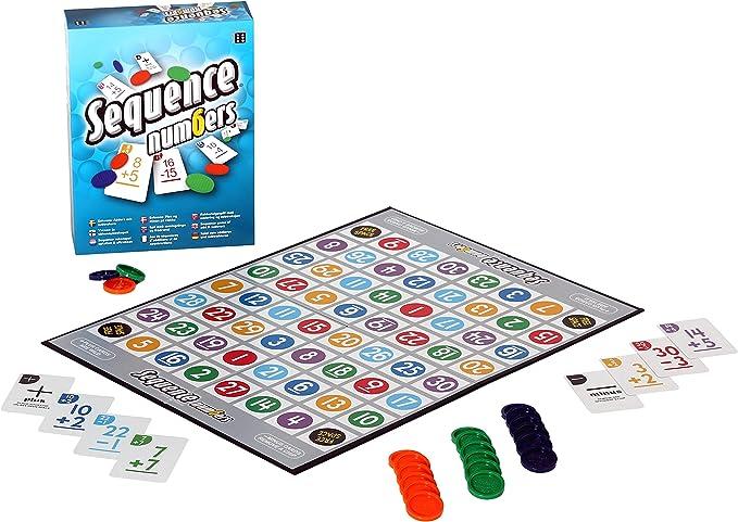 Juego de Mesa de números de Secuencia: Amazon.es: Juguetes y juegos