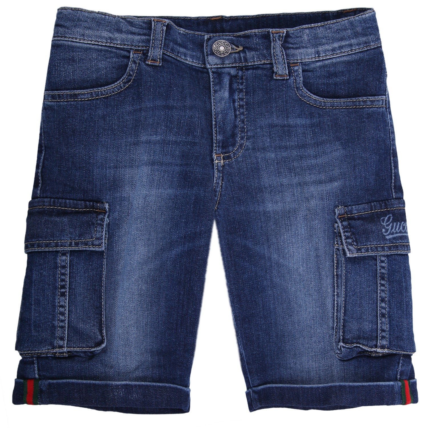 Gucci Boys Jeans Shorts Blue 311681-4046, Old Child Size:6 Years