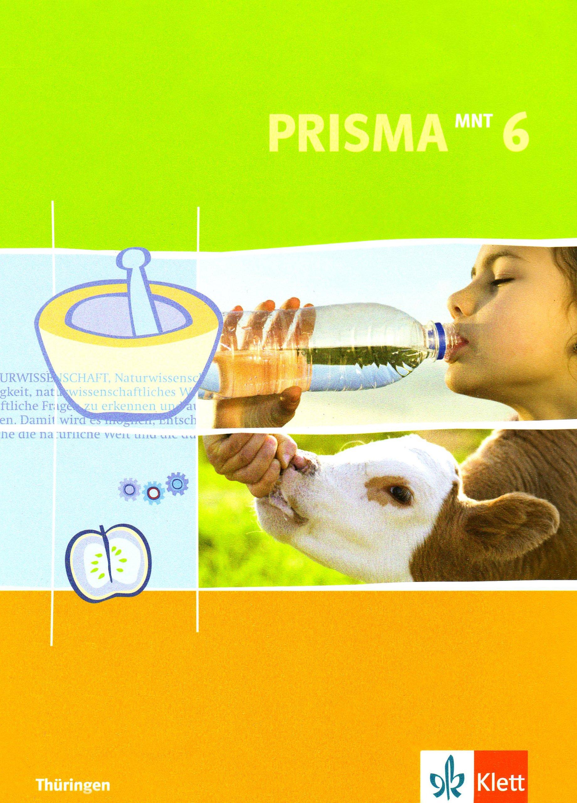 Prisma Mensch - Natur - Technik für Thüringen / Schülerbuch 6. Schuljahr