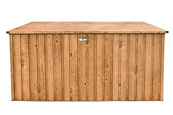 Turbo Tepro Metall-Gerätebox Kissen-Box Garten-Schrank 1450 Liter  SK29