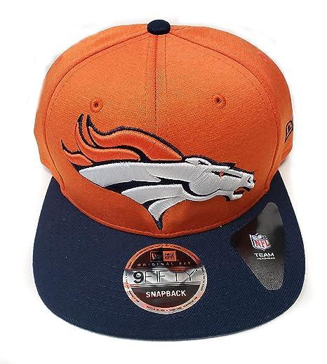 huge selection of 07478 18d02 New Era NFL Denver Broncos Heather Huge Snap 9Fifty Original Fit Cap, One  Size,
