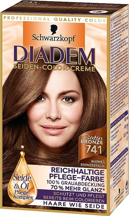 Diadem Seiden-Color-Crème Tinte para el cabello (3 ...