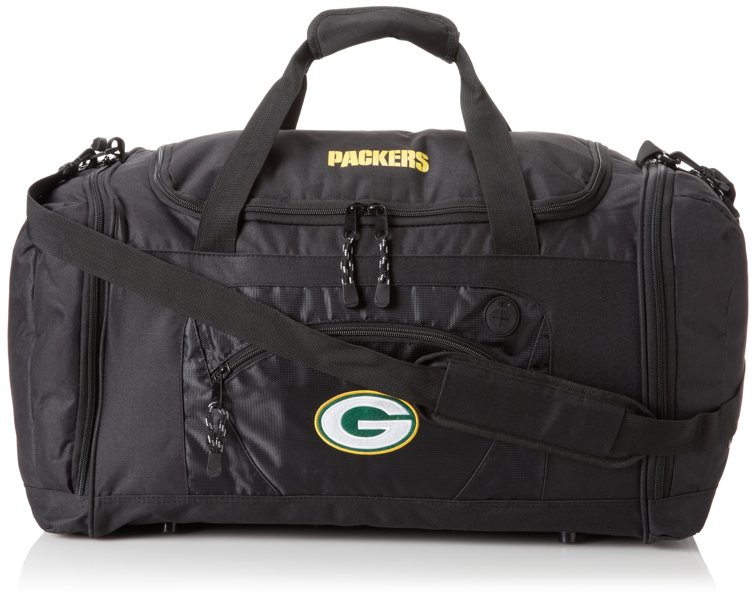 The Northwest Company Officially Licensed NFL Green Bay Packers Roadblock Duffel Bag