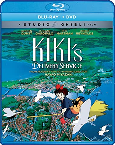 Poster of Kikis Delivery Service 1989 Dual Audio 720p Download