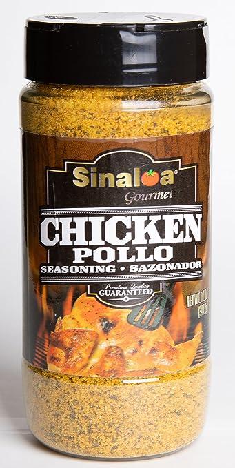 Salsa Sinaloa Chicken Seasoning (Sazonador de Pollo) 12 oz