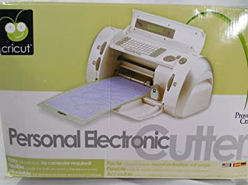 Amazon.com: Cricut Personal Electronic Scrapbooking Cutter Machine ...