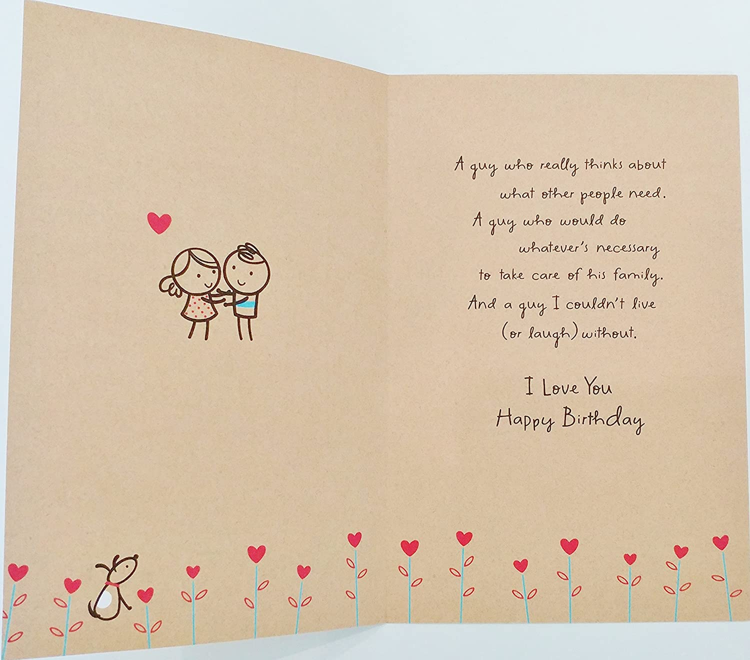 Amazon My Husband My Everything Happy Birthday Greeting
