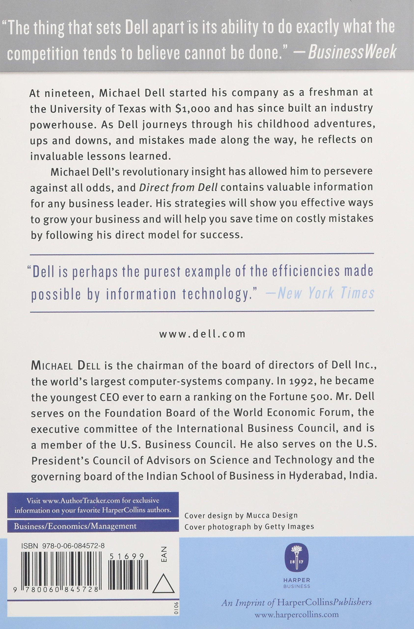 Direct from Dell: Strategies that Revolutionized an Industry ...
