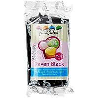 FunCakes Pâte à Sucre Noir 250 g