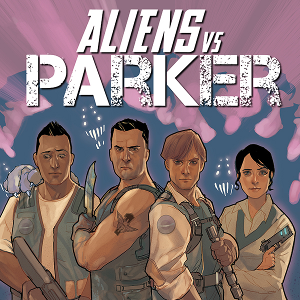 Aliens vs. Parker (Issues) (5 Book Series)