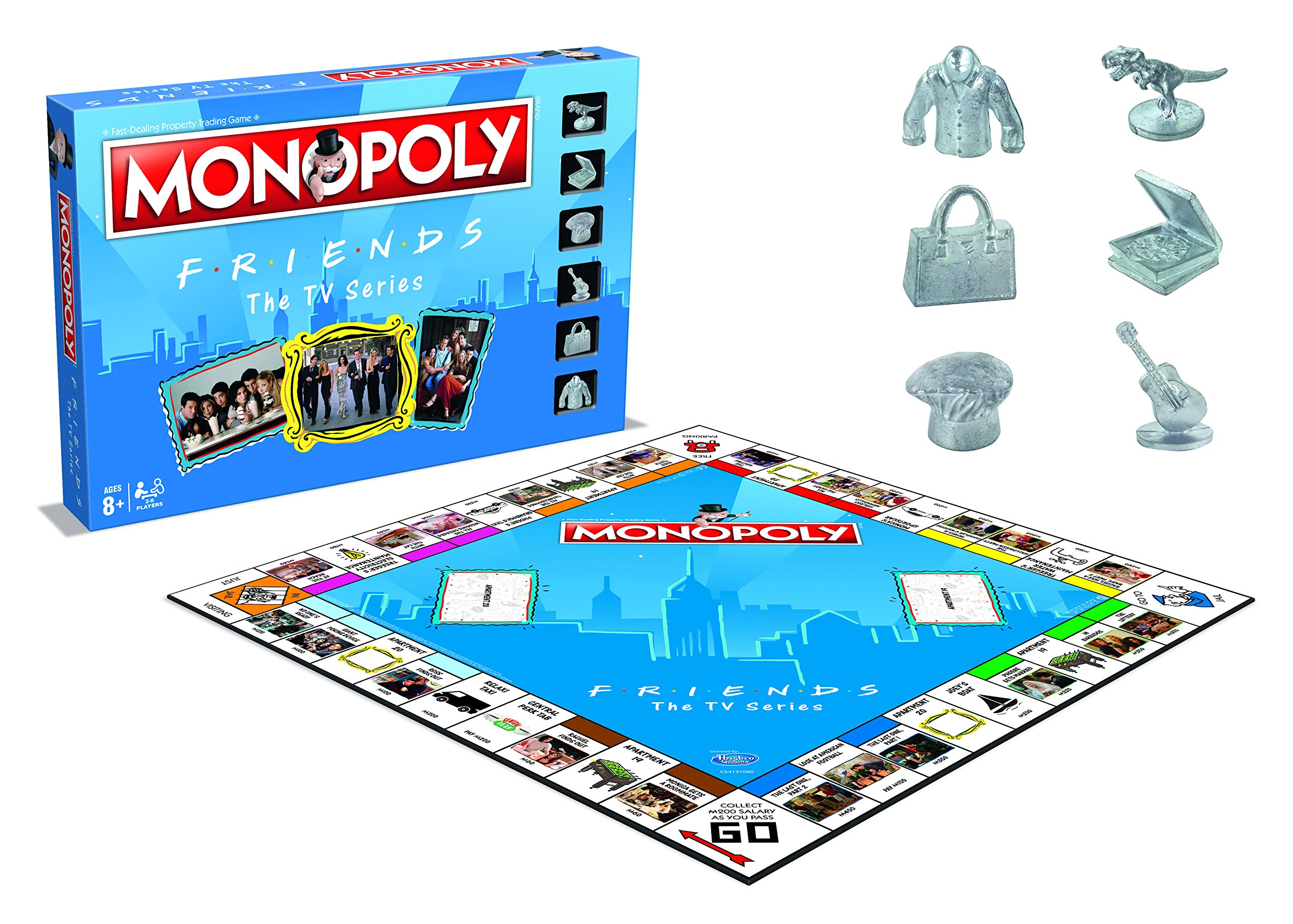Friends Monopoly Board Game: Amazon.es: Libros en idiomas extranjeros