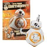 Hallmark Star Wars Birthday Card 'Build Your Own BB8' - Medium