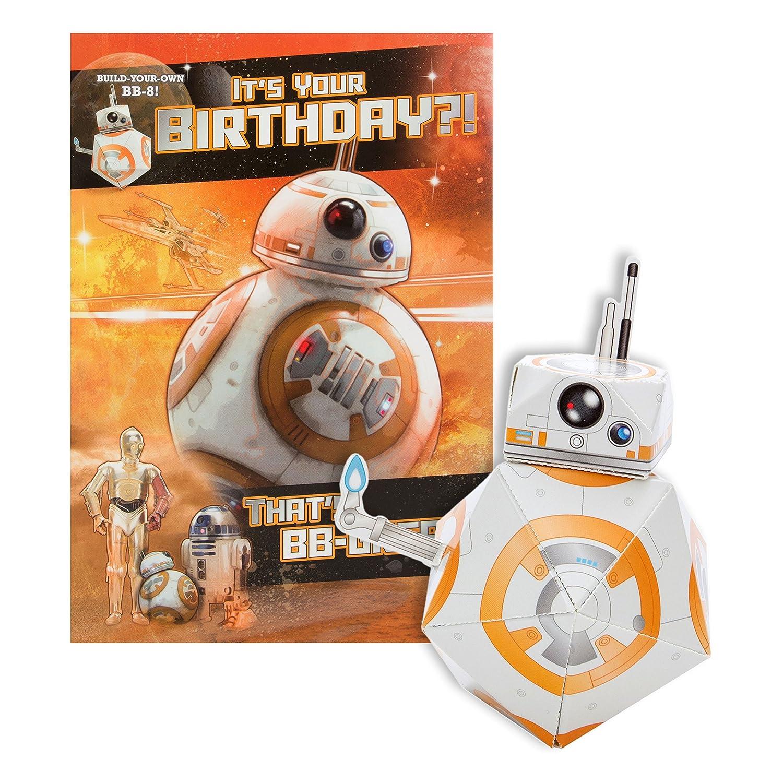 Hallmark Star Wars Build Your Own Yoda Birthday Card Amazon