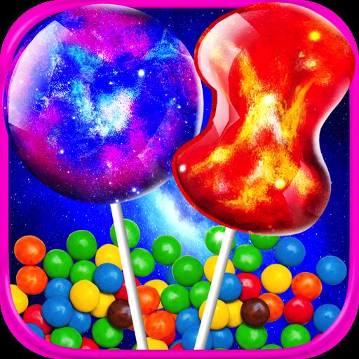 Galaxy Squishy Cake Pops - Kids Fun Dessert Food Maker Games FREE