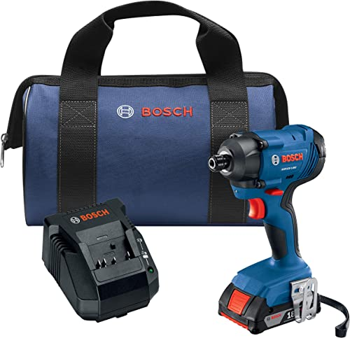 Bosch GDR18V-1400B12 18V 1 4 In. Hex Impact Driver Kit