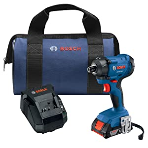 Bosch GDR18V-1400B12 18V 1/4 In. Hex Impact Driver Kit