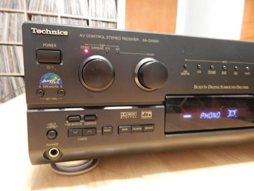 Technics SA-DX930 Audio/Video Receiver (Discontinued by Manufacturer)