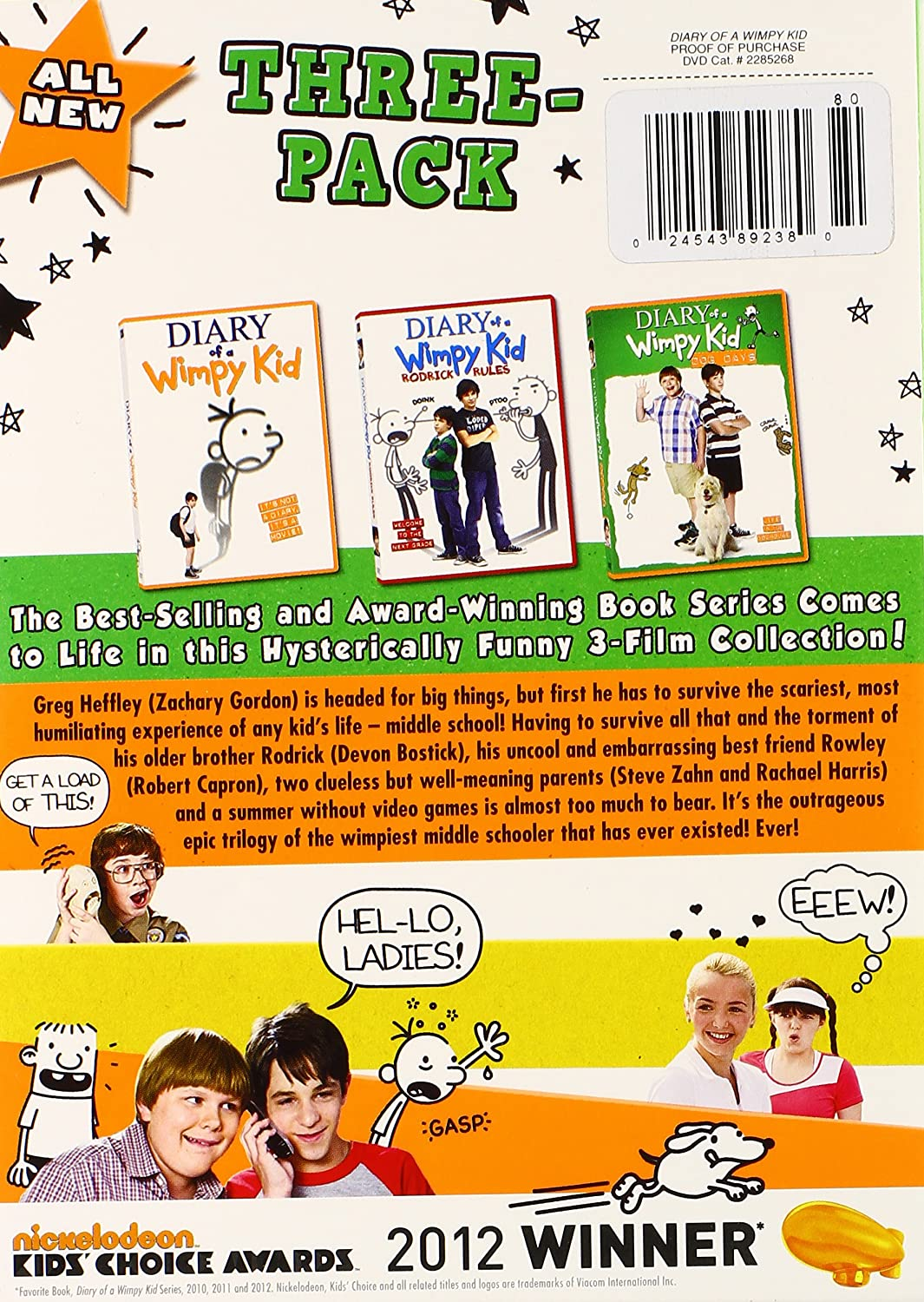 Amazon diary of a wimpy kid 1 2 3 diary of a wimpy kid amazon diary of a wimpy kid 1 2 3 diary of a wimpy kid movies tv solutioingenieria Image collections