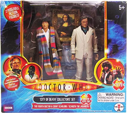 Doctor Who City of Death Fourth Doctor and Count Scarlioni Action Figure 2-Pack Other Manufacturer 03924