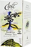 Choice Organic Jasmine Green Tea, 20 Count Box