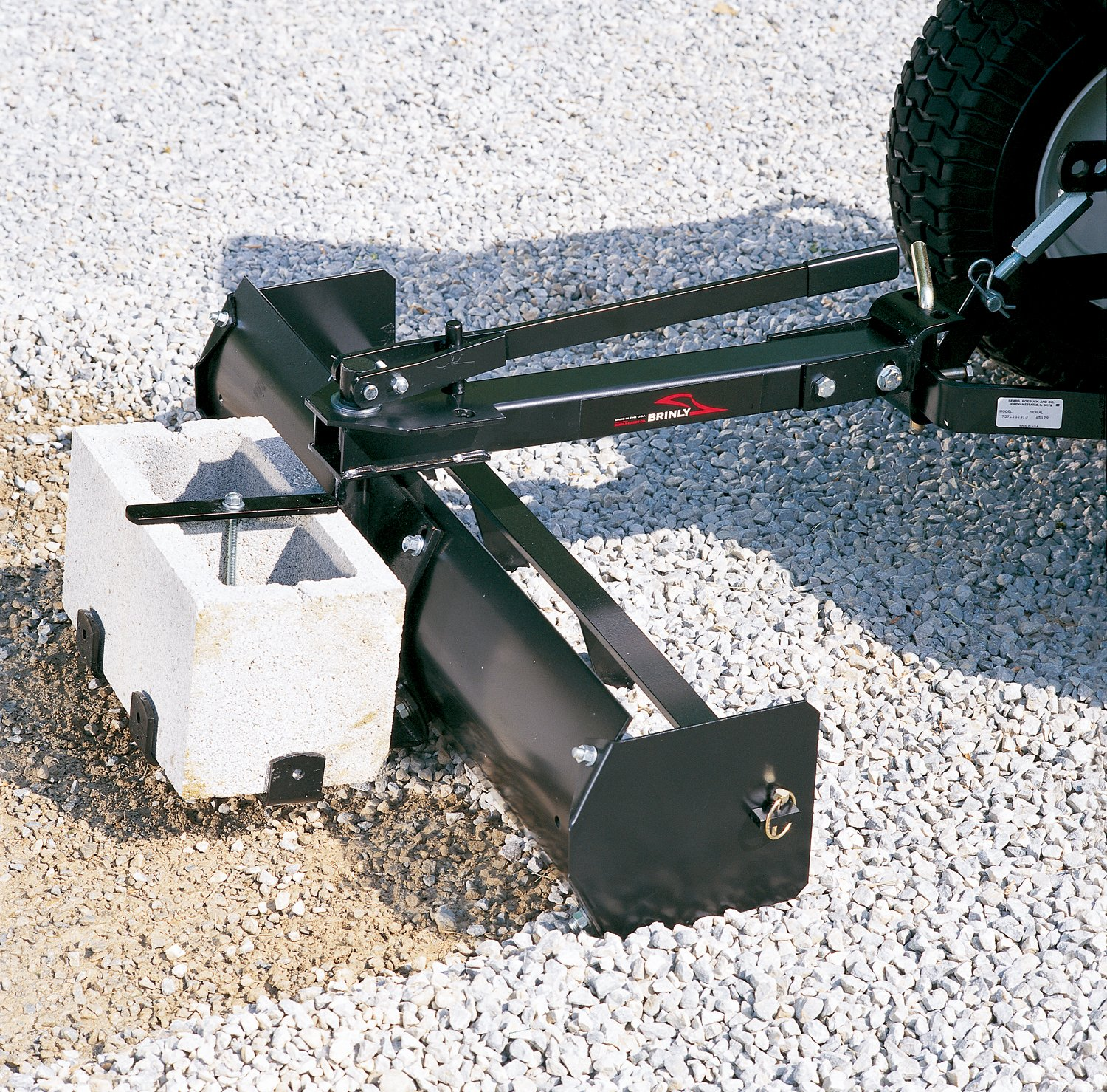 craftsman garden tractor attachments. amazon.com : brinly bs 38bh sleeve hitch tow behind box scraper, 38 inch craftsman garden tractor attachments i