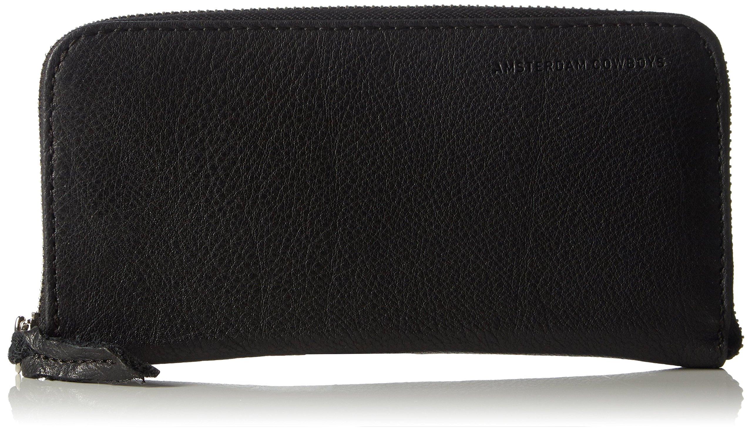 COWBOYSBELT Women's Acle Black Checkbook Wallet