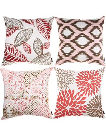 Cushion Cover Bright Decorative Back Cushion Covers Luxury Classic Euorpe Style Home Sofa Cushion Cover Cases Car Head Pillow Cover Home Textile