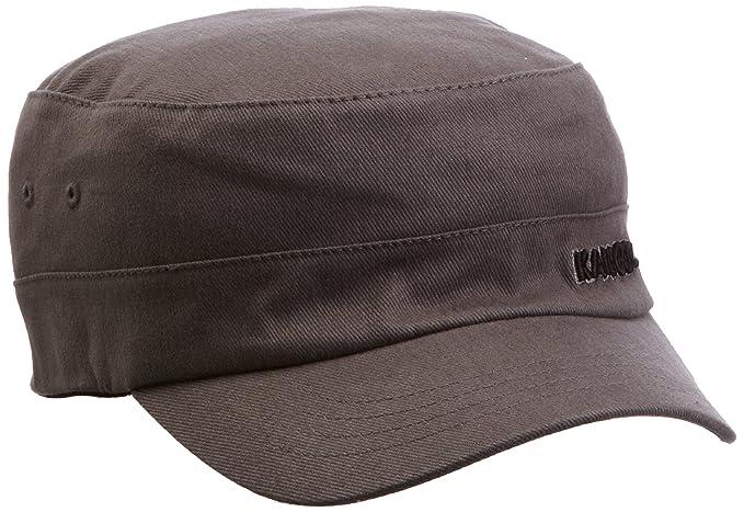 596d664bce44c2 Kangol Cotton Twill Army Cap, Grey, Small (Manufacturer Size: Small/Medium