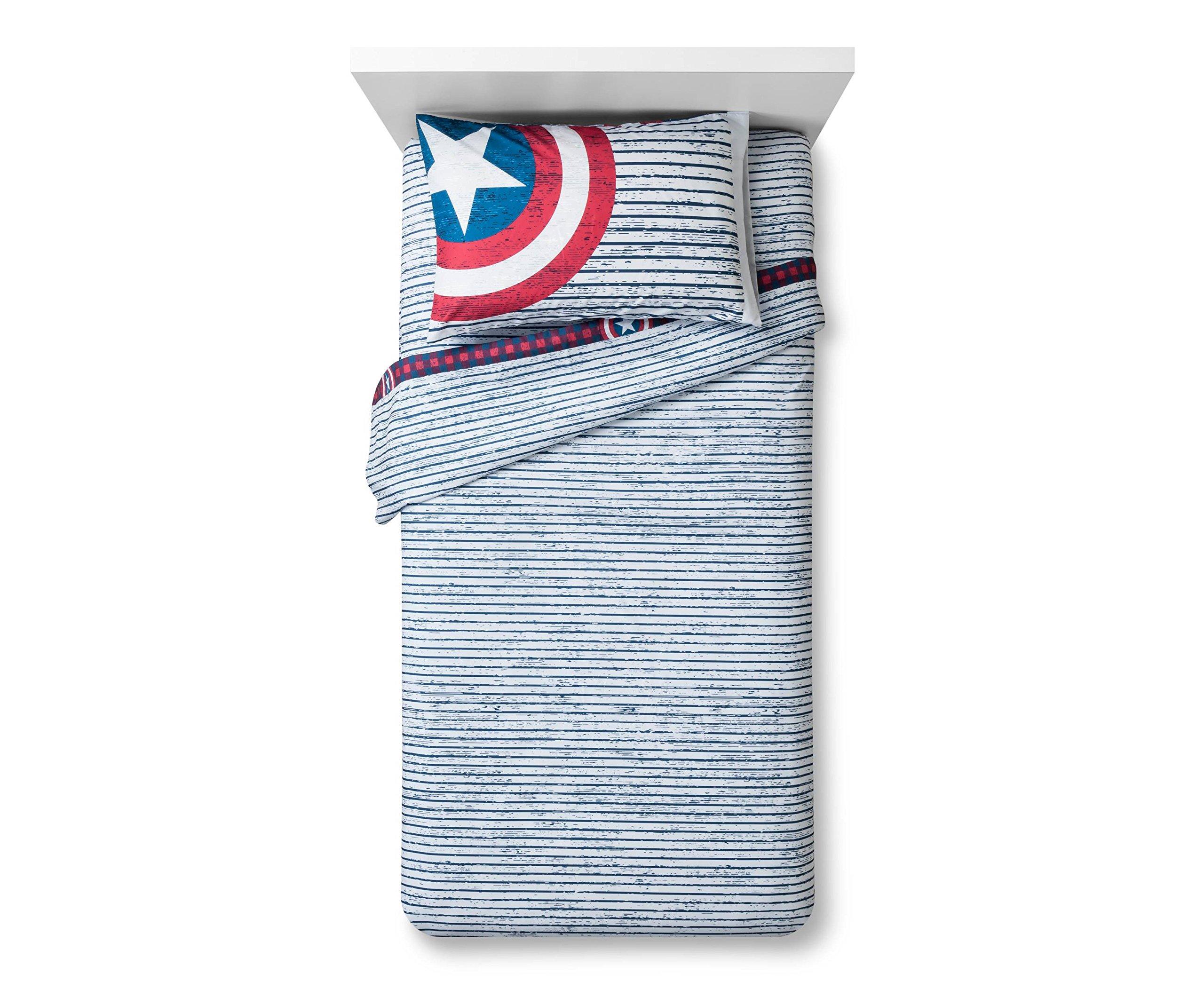 Marvel Captain America Twin Sheet Set