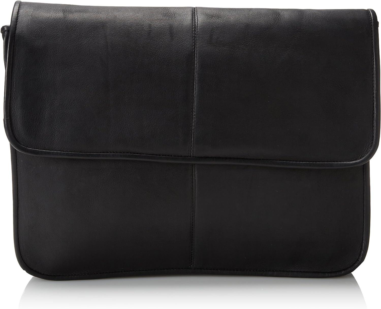David King & Co. 1/2 Flap-Over Envelope, Black, One Size