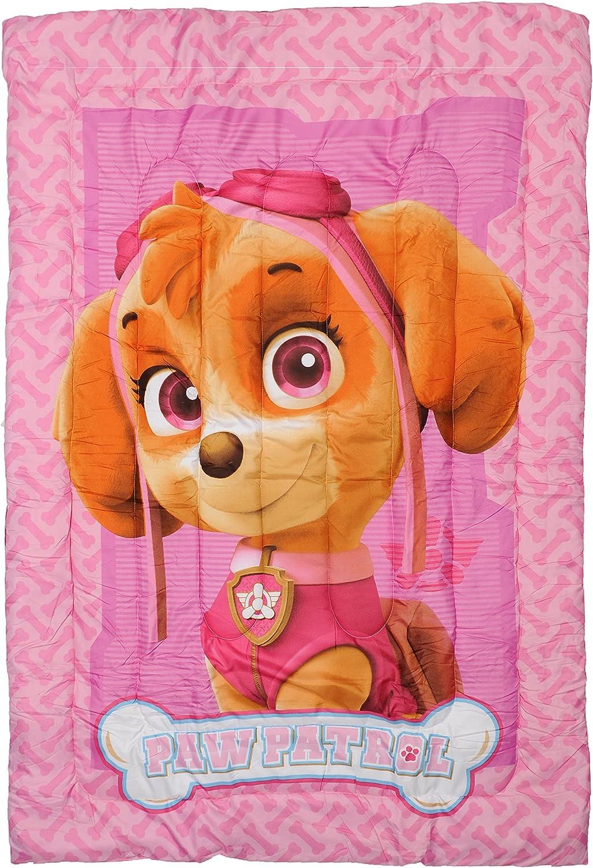 St.Ioannidis /& suo pt20703/Trapunta singola imbottita stampata sotto licenza La pat patrouille Girl poliestere rosa 200/x 140/cm