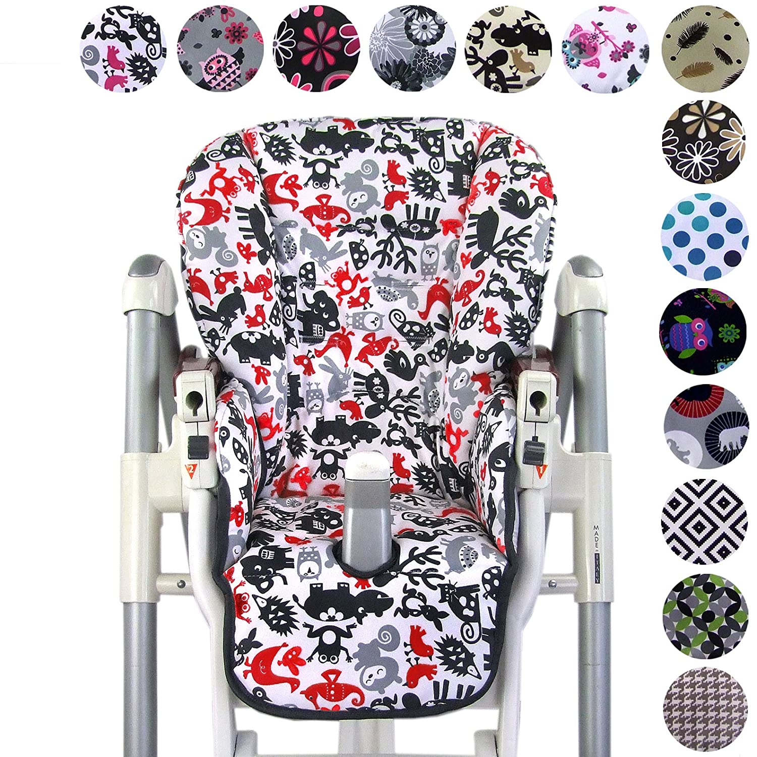 Tremendous Bambiniwelt Replacement Seat Cushion Cover For Highchair Peg Caraccident5 Cool Chair Designs And Ideas Caraccident5Info