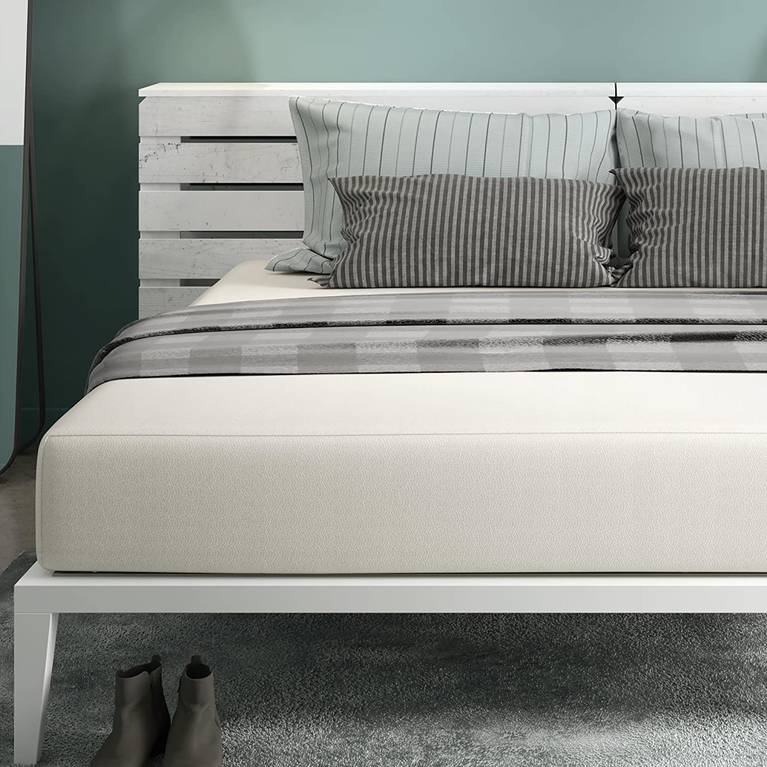 dp dhp amazon kitchen white justice signature contour mattress ca twin sleep home