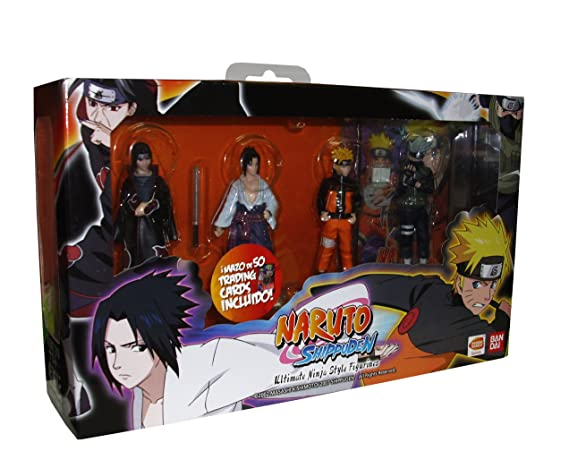 Naruto Ultimate Figurines + Card Pack: Amazon.es: Videojuegos