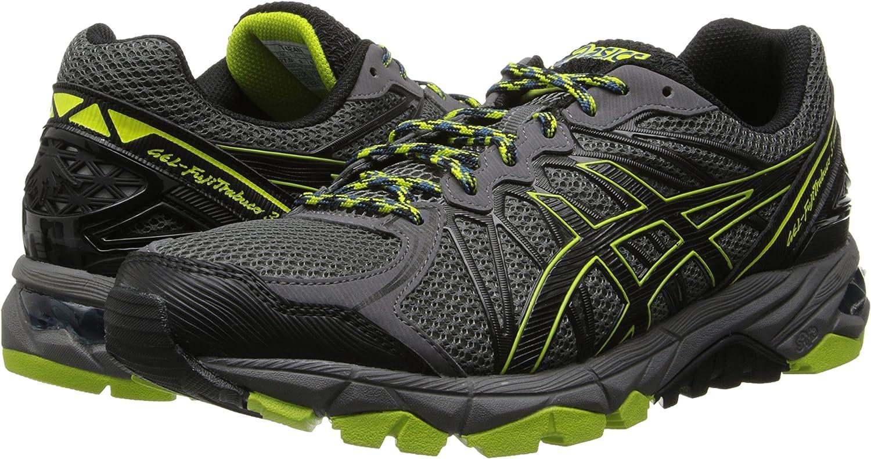 ASICS Gel Fuji Attack 5 GTX Running Shoes 7.5 Grey: Amazon