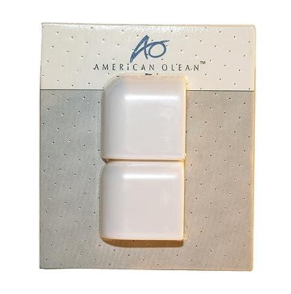 American Olean X Mudcap Outer Corner Matte White Tile Amazoncom - American olean 2x2 mosaic tile