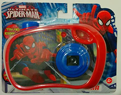 Spiderman Toys For Kids : Amazon spider man childrens toy camera toys games