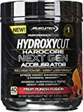 MuscleTech Hydroxycut Hardcore Next Gen, Pre-Cardio/Weight Loss Formula, Fruit Punch Fusion, 40 Servings, 6.59 oz (187g)