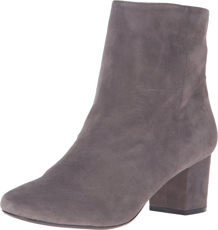 dune block heel ankle boot